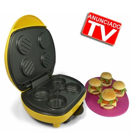 Maquina para hacer hamburguesas maquina mini hamburguesas for Maquina que cocina