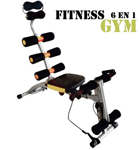 Banco abdominales rock gym aparato fitness gym aparato for Solo fitness gym