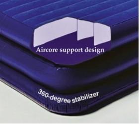 Cama hinchable restform individual doble capa